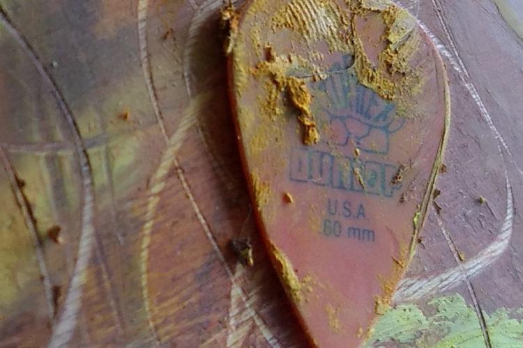 guitar pick - dunlop