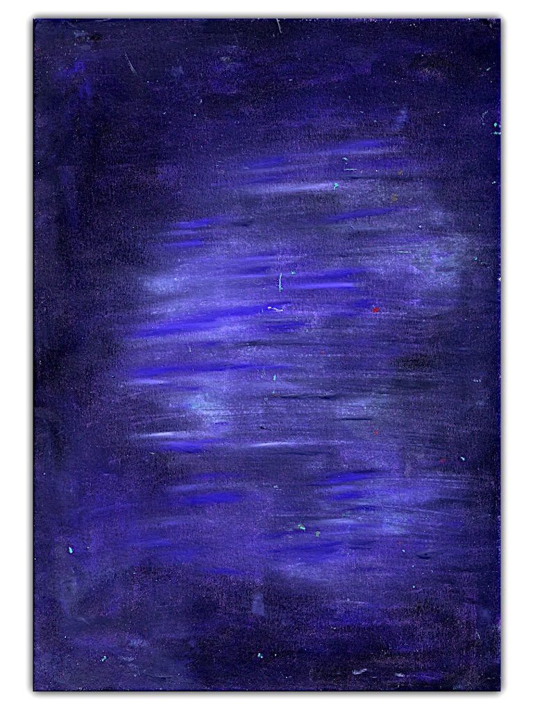 dark purple color abstract painting