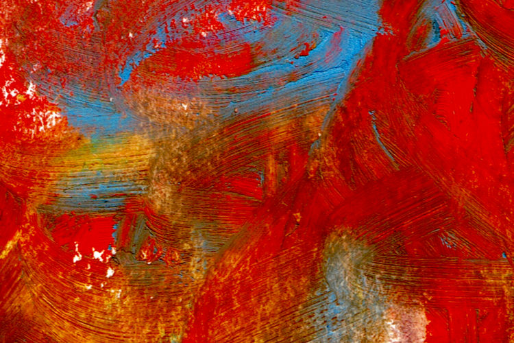 oil pastel detail